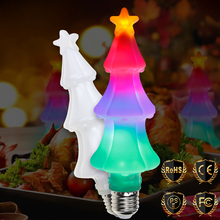 WENNI E26 Flame Effect Bulbs E27 LED Lamp Flickering Emulation Fire Light Christmas Tree Holiday Decoration