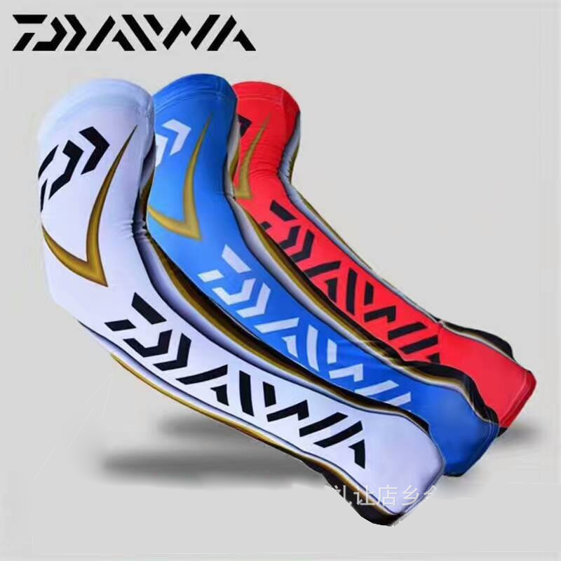 1 Pair/set Arm Warmers Anti-UV Fishing Armguards Scarf Sunscreen Anti Mosquito Summer Sportswear Fishing Clothing Accessories