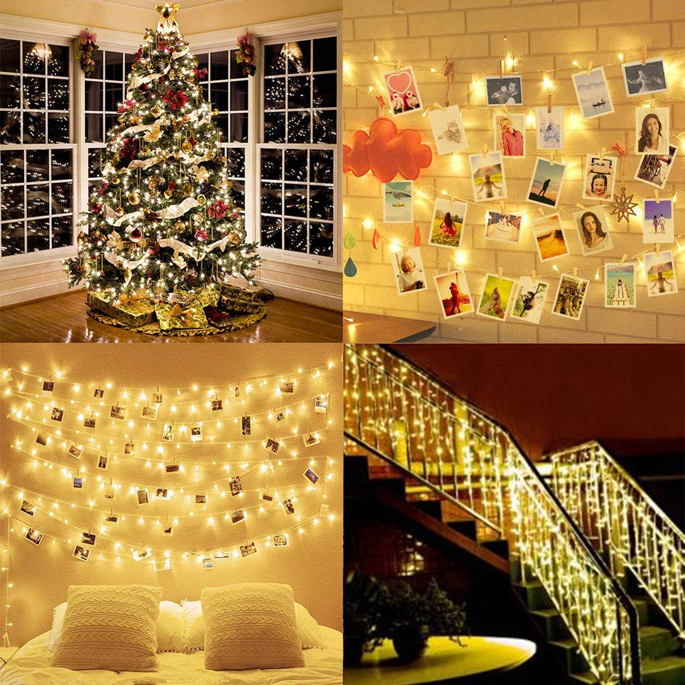 2m/5m/10m Photo Clip String Lights Led Usb Outdoor Battery Operated Garland With Clothespins For Home Decoration String Lights 6