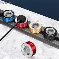 KXN-conector de doble vía de alimentación montado en la pared, extensión eléctrica, enchufes de salida de aleación de aluminio para cocina, hogar y oficina, estándar de la UE y Alemania