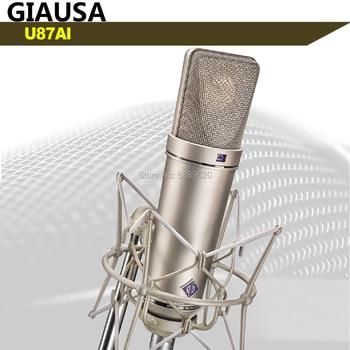 u87ai pro studio microphone ULTIMATE STUDIO STANDARD recording microphone парогенератор tefal gv9563 pro express ultimate care