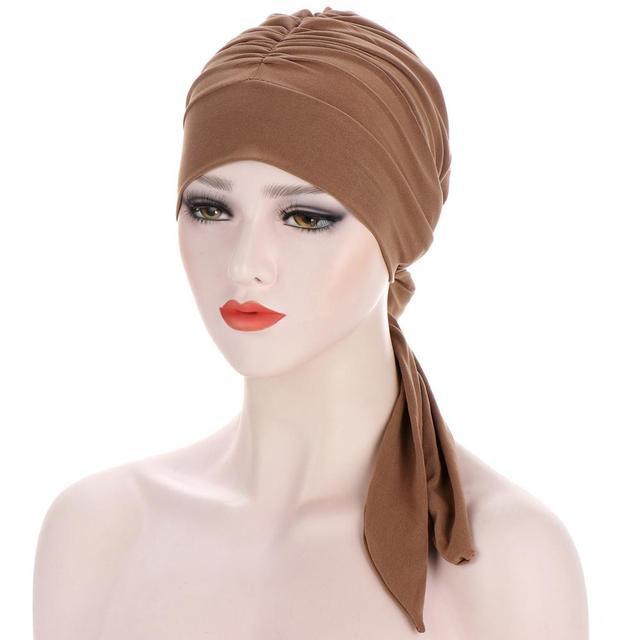 Купить мусульманский тюрбан шапка для женщин предварительно завязанная картинки цена