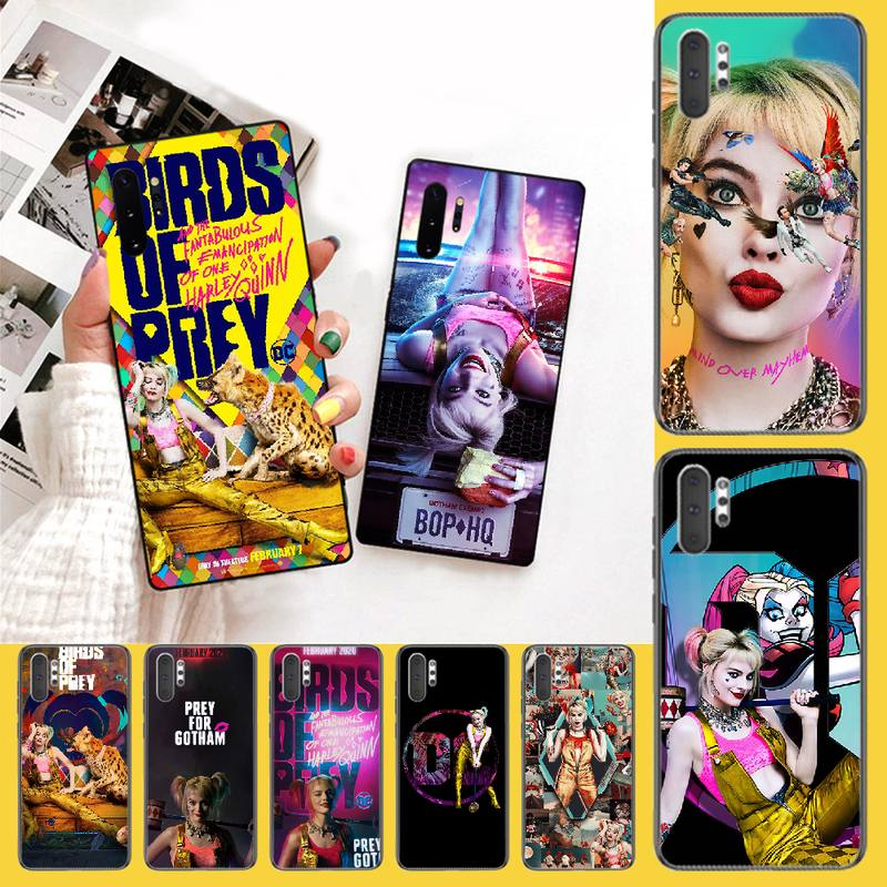 Penghuwan Birds Of Prey Harley Quinn Film Poster 2020 Soft Silicone Phone Case For Samsung Note 3 4 5 7 8 9 10 Pro M10 20 30 Half Wrapped Cases Aliexpress