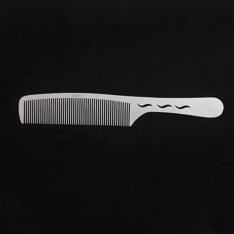 Brainbow 1PC Titanium Baja Sisir Profesional Salon Rambut Rambut Anti-Static Tukang Cukur Sisir Ultra Tipis Sikat Rambut untuk pria