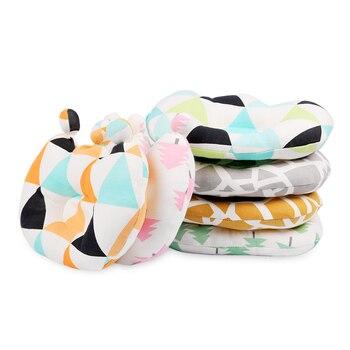 Almohada bonita para cama de bebé, cojín antivuelco con posicionador de sueño...