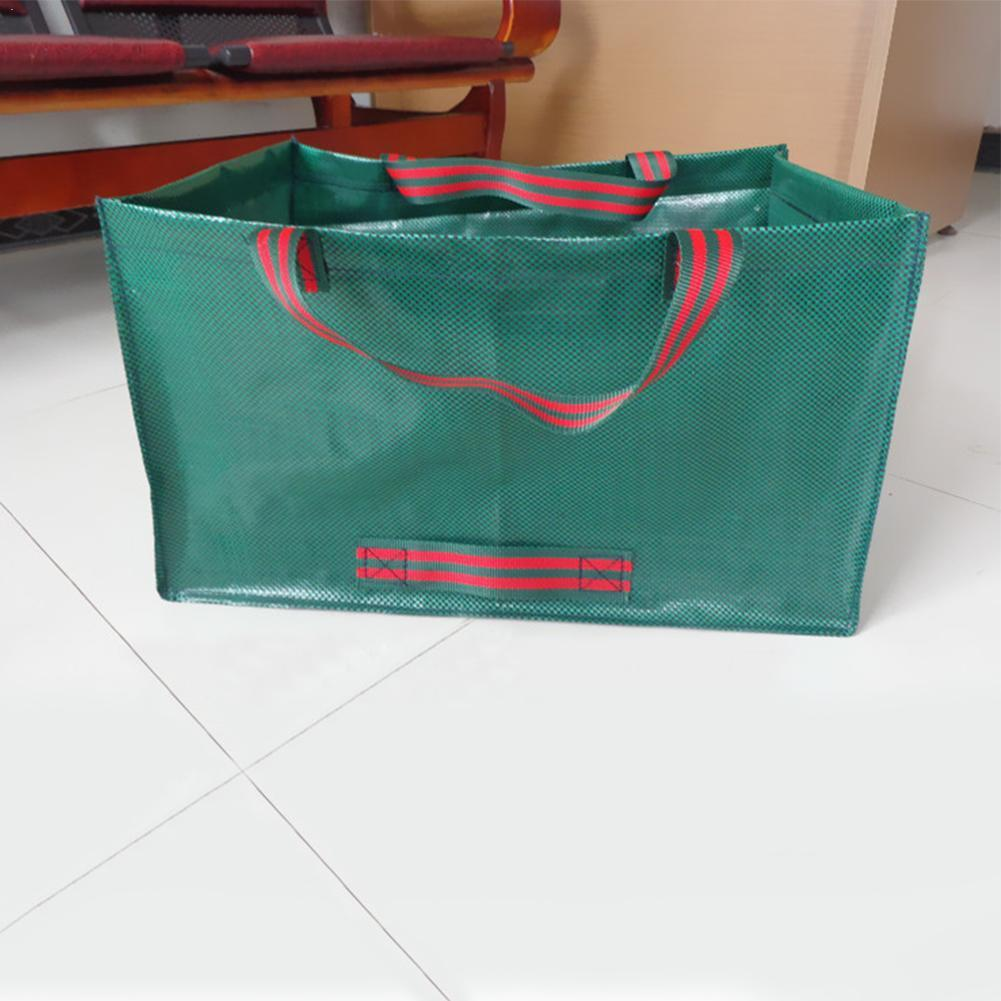 Garden Waste Bag Heavy Duty Large Bin Reusable Bag Portable Refuse Sack Reusable Bag Portable Carry Bag Duty Sack Waste W4O9