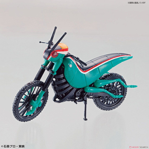 Image 3 - Original Bandai Kamen rider Motorcycle Fighting Locust Locomotive NO.3 Assembly Action Figureals Brinquedos Model