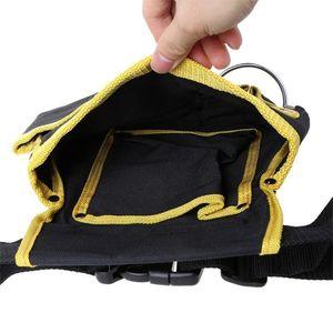 Image 5 - FGHGF hohe qualität Multi funktions Oxford Tuch Elektriker Werkzeuge Tasche Taille Beutel Gürtel Lagerung Inhaber Organizer