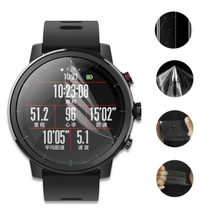 For Xiaomi Huami Amazfit Stratos Pace 2/2S Sport Smart Watch Full Screen Protector Cover Soft TPU Ultra Clear Protective Film(China)