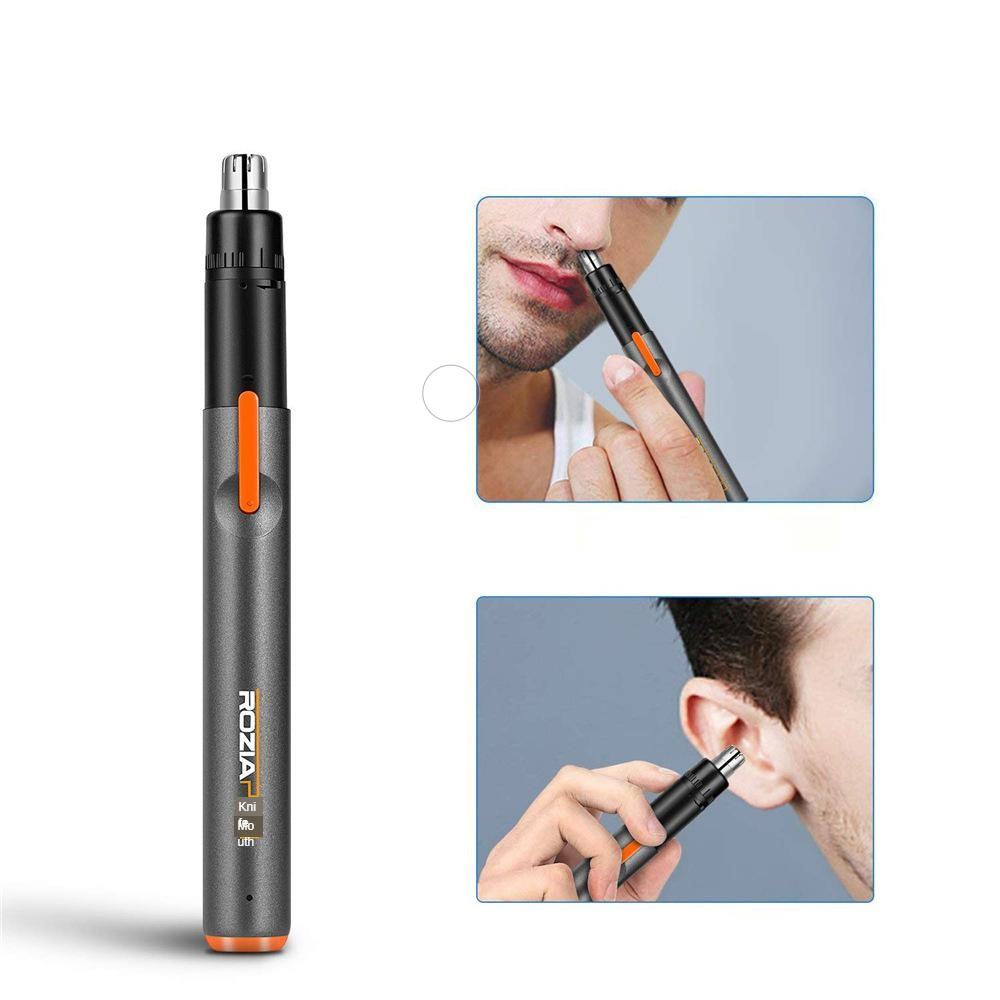 Men's Women's Universal Ear Nose Hair Trimmer USB Rechargeable Portable Electric Nose Hair Trimme