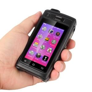 Image 5 - UNIWA A19S IP68 Walkie Talkie Radio 3GB 32GB 4800mAh 3 inch Touch Dual SIM 16MP Camera POC Zello Night Vision LED NFC SOS 4G LTE