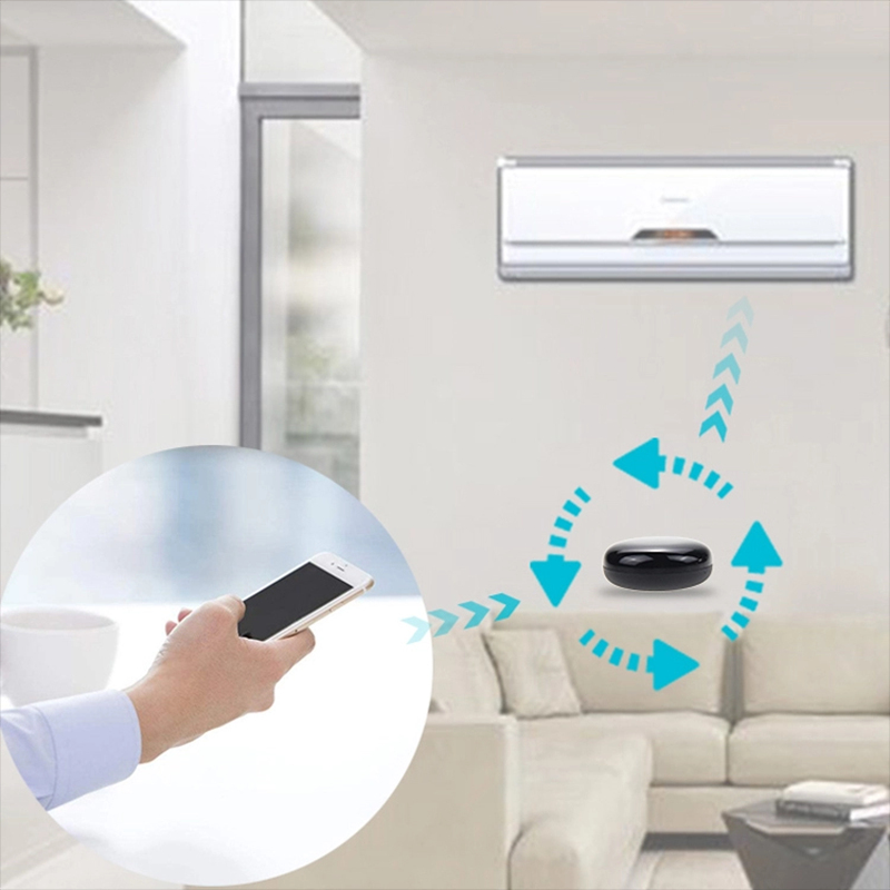 1PC Smart Wireless WiFi-IR Remote Controller Tuya/Smart Home Life APP WiFi Infrared Remote Controller Air Conditioner TV