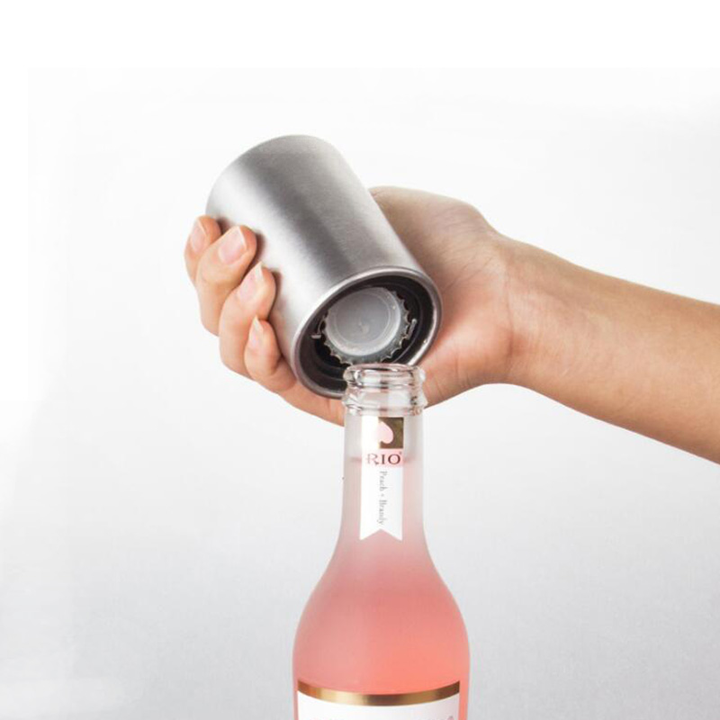 Kitchen Accessories Kitchen Tool Gadgets Stainless Steel Bottle Opener Automatic Beer Soda Cap Wine Drinking Bottle Opener Set