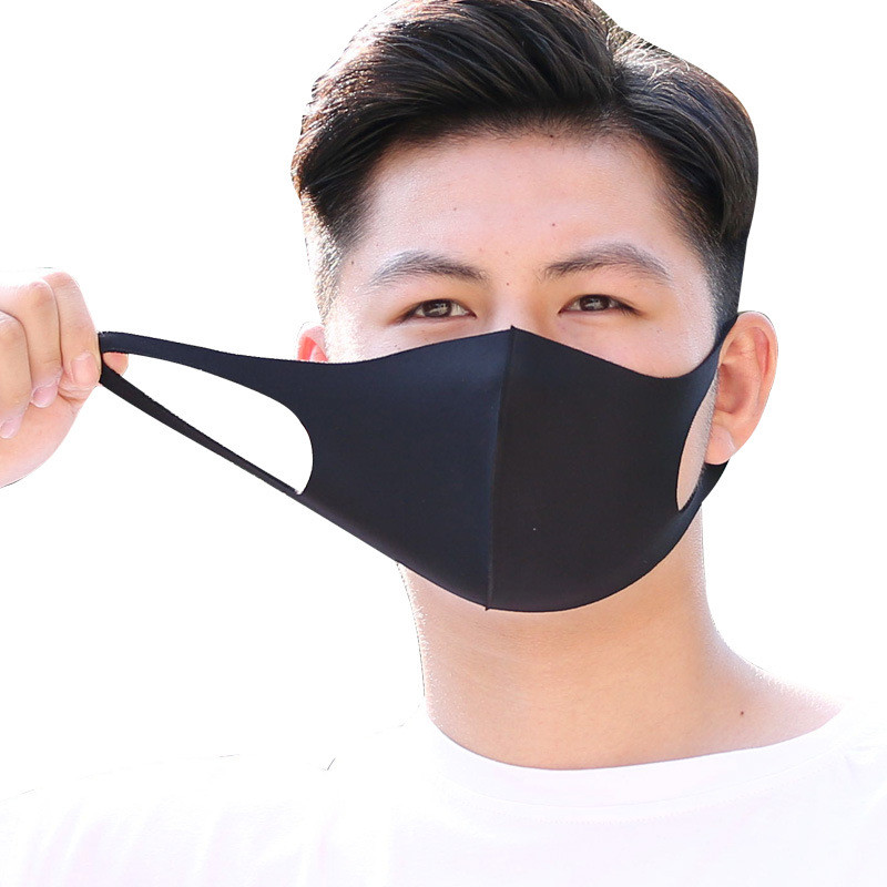 2020 Spring Face Mask Breathable Unisex Sponge Protection Masks Reusable Anti Pollution Face Shield Wind Proof Cover Mouth Mask