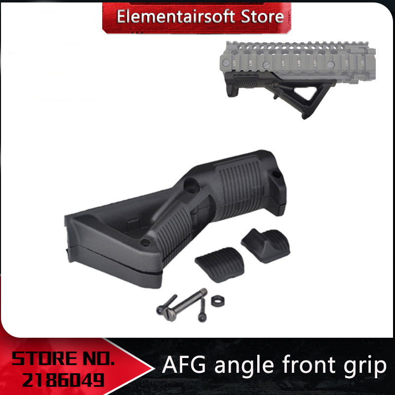 Element Plastic Toys Outdoor Sports AFG Angle Front Grip Picatinny Rail For Airsoft AEG GBB Nerf Paintball Accessories