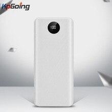 QC 3,0 Быстрая зарядка USB внешний аккумулятор зарядное устройство коробка светодиодный цифровой дисплей светильник 8*18650 зарядное устройство коробка для huawei Iphone