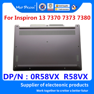 Image 1 - new original Laptop Bottom Base Bottom Cover Assembly for Dell Inspiron 13 7370 7373 7380 Silver 0R58VX R58VX 460.0B605.005
