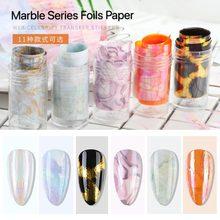 50*4 см фон для ногтей Мрамор серии розового и синего цвета