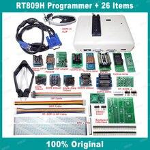Rt809h usb universal programador com 21 itens emmc-nand flash bios eeprom melhor do que tl866ii mais rt809f