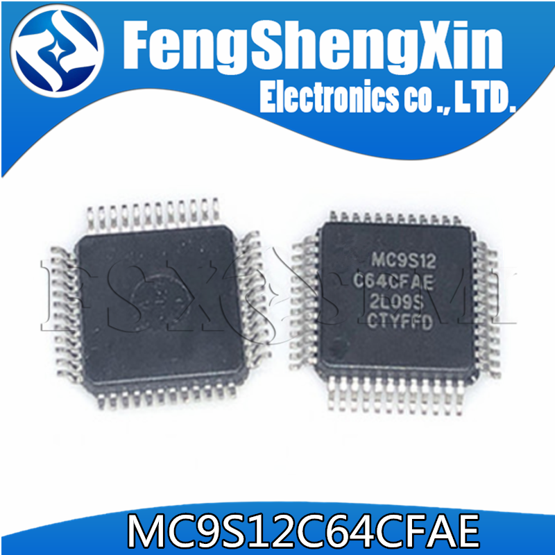 10 pcs/lot MC9S12 C64CFAE MC9S12C64CFAE QFP48 puces IC