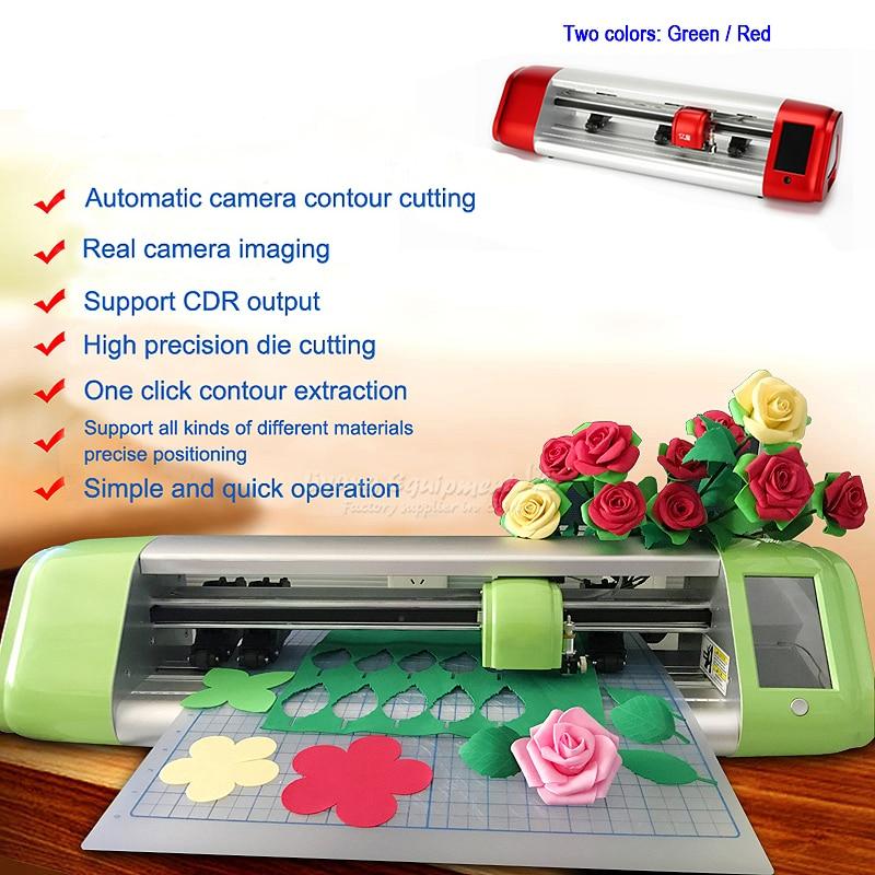 390-610mm Digital Vinyl Sticker Cutting Plotter Camera Profile Die Cutting Machine Laser Machine With WIFI