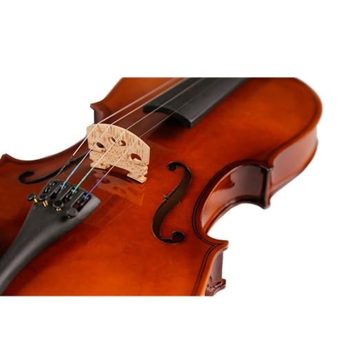Di alta Qualità Violino Violino Strumento A Corde Giocattolo Musicale per I Bambini Principianti Violino Tiglio Corpo In Acciaio Stringa Pergolato Arco Colofonia - 5