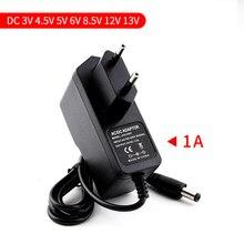 5V Питание адаптер Зарядное устройство Универсальный США ЕС штекер адаптера переменного тока 3/4. 5/5/6/8,5/12/13 V 1A Мощность адаптер для светодиодной ленты светильник