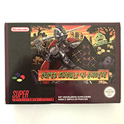 Super GhoulsN Ghosts with box 16bit  game cartridge EU Version for pal console