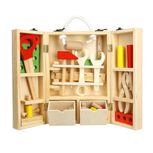 Детский набор для ремонта дерева инструмент портативная коробка
