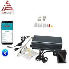 Sabvoton 72100 72150 72200 série pas svmc disponível kits de controlador do motor com display h6 tft e adaptador bluetooth