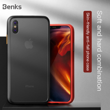 Benks Anti-fall Phone Case For Apple iPhone X XS MAX XR Matte Shockproof Cases S
