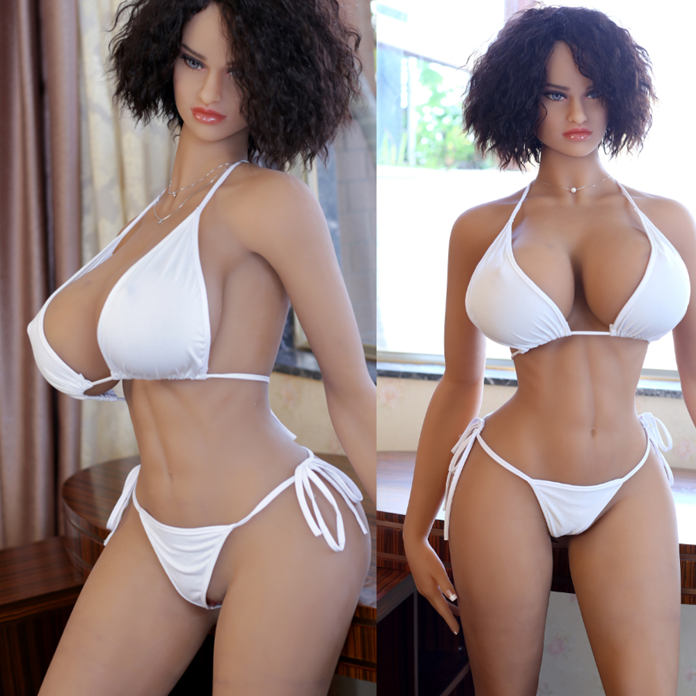 161cm Realistic silicone <font><b>sex</b></font> <font><b>doll</b></font> huge breast for men with high qulaity meta skeleton free shipping image