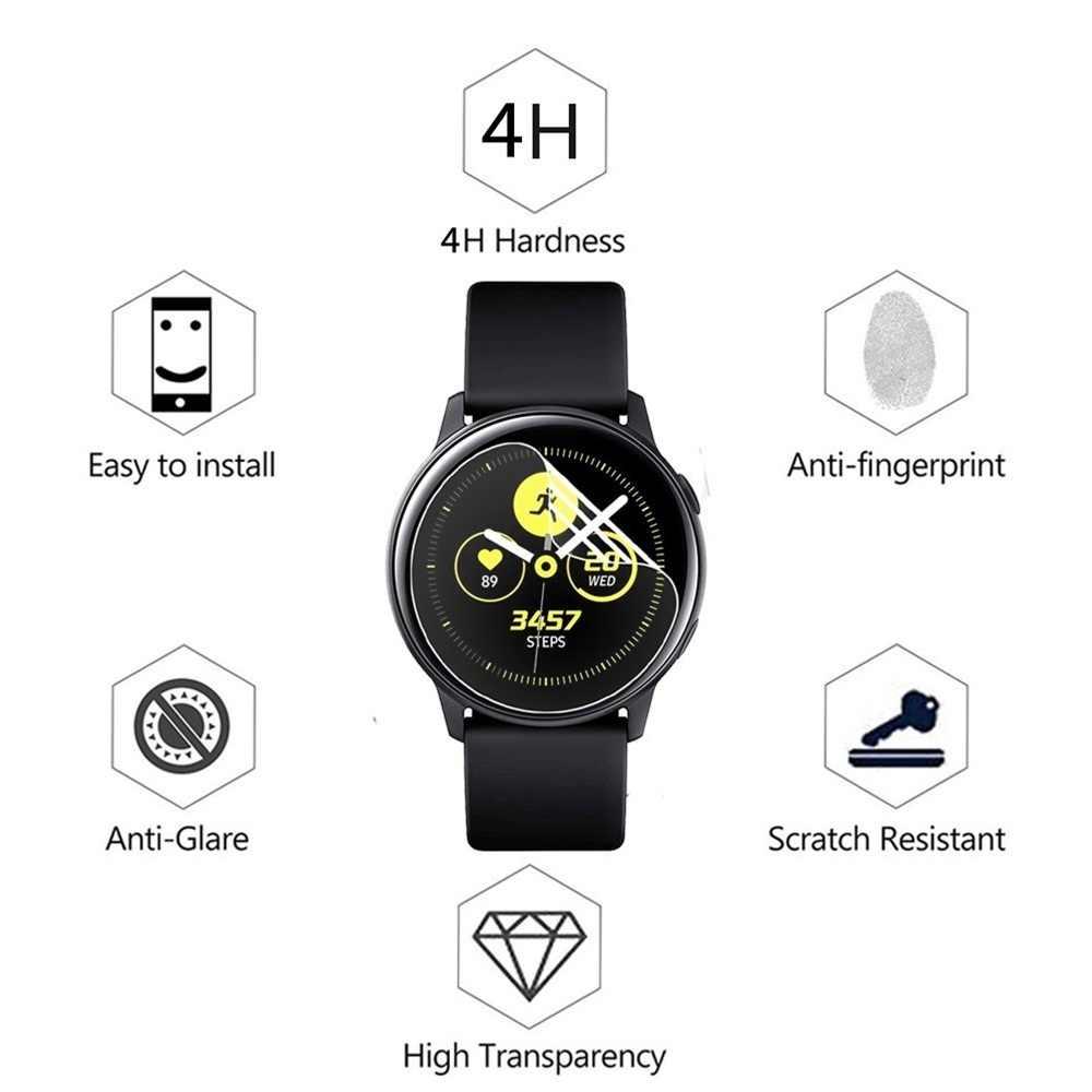 Zachte Tpu Hydrogel Film Voor Samsung Galaxy Horloge Actieve 2 40 Mm 44 Mm Smart Horloge Scherm Ultra-Dunne beschermende Huid Film