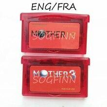 אמא 1 2 3 סדרת אדום מעטפת ENG/FRA זיכרון מחסנית כרטיס עבור 32 קצת משחק וידאו קונסולת אבזרים