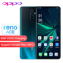 Original OPPO Reno Ace 90HZ pantalla soporte NFC Google Play mundial ROM OTG 8GB 128GB 48.0MP 65W VOOC WIFI Teléfono Móvil Inteligente(China)
