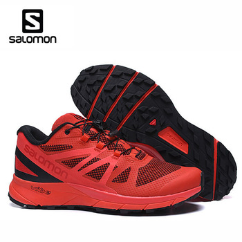 Outdoor Sport Shoes  Salomon Sense Ride Men's Running County Shoes Jogging Walking Salomon Speedcross 7 Original Sneaker salomon юбка женская salomon sense размер 46 48