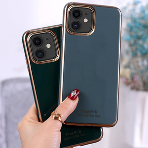 Мягкий силиконовый чехол из ТПУ для телефона, новинка, роскошное покрытие 6D для Iphone 11 Pro Max 2020 SE 6 7 8 Plus X XS XR XSMAX, чехол, аксессуары
