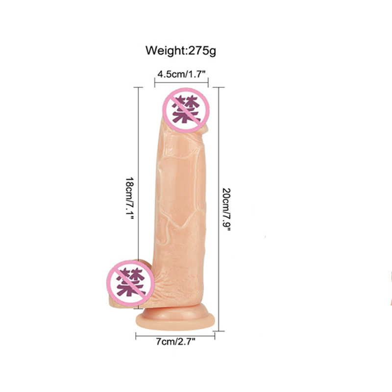 Realistic Dildo Sex Toys for Adult Mini Erotic Bullet Vibrator Strap On Penis Suction Cup Silicone Sex Toys For Women Sex Shop