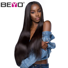 Lace Front Human Hair Wigs 2x6 Lace Closure Wig Pre Plucked Straight Lace Front Wig With Baby Hair Peruvian Wig Remy Beyo Hair