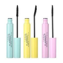 3d Silk Fiber Mascara Waterproof Black Mascara Thick Lengthening Eye Lashes Chinese Cosmetics все цены