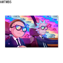 AMTMBS Cartoon Anime Dream World Wall Art Canvas Painting Posters And Prints Kids Wall Pictures For living Room Boy Bedroom платье dream world dream world mp002xw0tob7