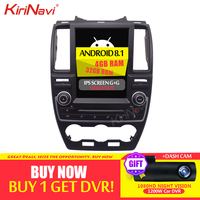KiriNavi 6 Core Vertical Screen Tesla Style Android 8.1 Car Radio For Land Rover Freelander 2 Car Dvd Navigation 2007 2015