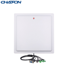 Chafon 15M Long Range Uhf Rfid Reader Usb Rs232 Wg26 Relais Interface Ingebouwde 12dbi Gain Antenne Gratis sdk Voor Parkeer
