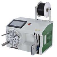 Automatische Wickel Draht Bindung Maschine Hochwertige Touch Screen Typ Draht Krawatte Maschine Kabel Wickel Maschine 15-45mm 110 v/220 V