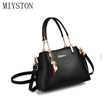 Women Handbags Tassel PU Leather Totes Bag Candy Top-handle Crossbody Bag Shoulder Bag Ladies Simple Hand Bag simple candy colour and metal design crossbody bag for women