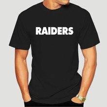 RAIDERS – T-Shirt manches courtes, noir et décontracté, de Style chinois, de toutes tailles, Oakland Bay AFC Carr Champs, S-5XL, 8256X