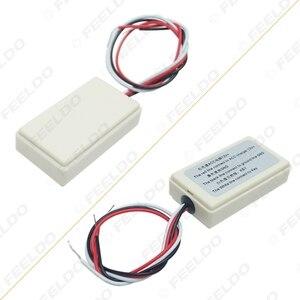 Image 5 - 1Set Auto Wireless Lenkrad Control Taste Tasse Form Mit LED Licht 8 Schlüssel Funktionen Für Auto Android navigation Player