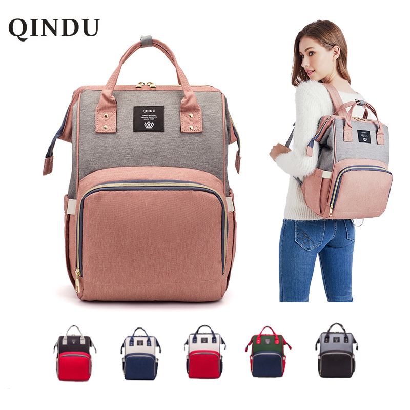 Diaper Bag Backpack Multifunction Travel Back Pack Maternity Baby Nappy Changing Bags Large Capacity Waterproof And Stylish
