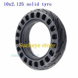 Твердые шины для электрического скутера 10 ''10x2,125 10x2, ненадувающаяся сотовая шина для умного электрического балансирующего скутера, складна...