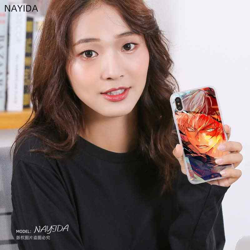 Telefoon Geval Voor Huawei P40 P10 P20 P30 Lite Plus Pro P8 P9 Lite P Smart Z 2019 Cover Star shoto Todoroki